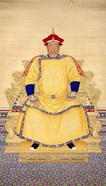 清王朝の創始者であるヌルハチ。清太祖天命皇帝朝服像(北京故宮博物院蔵)